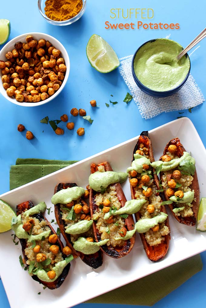 Chipotle Sweet Potato Skewers With Cilantro Lime Rice Recipes ...