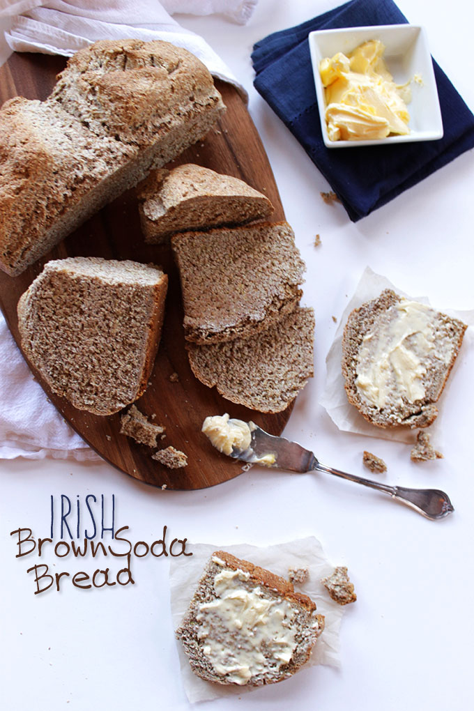 how to make brown soda bread