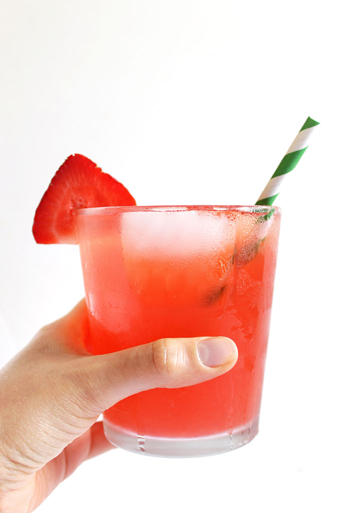 Strawberry rhubarb and honey drink. Simple. Delicious. Refreshing ...