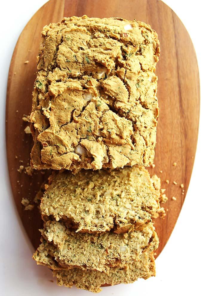 Gluten Free Savory Zucchini Bread - Robust Recipes