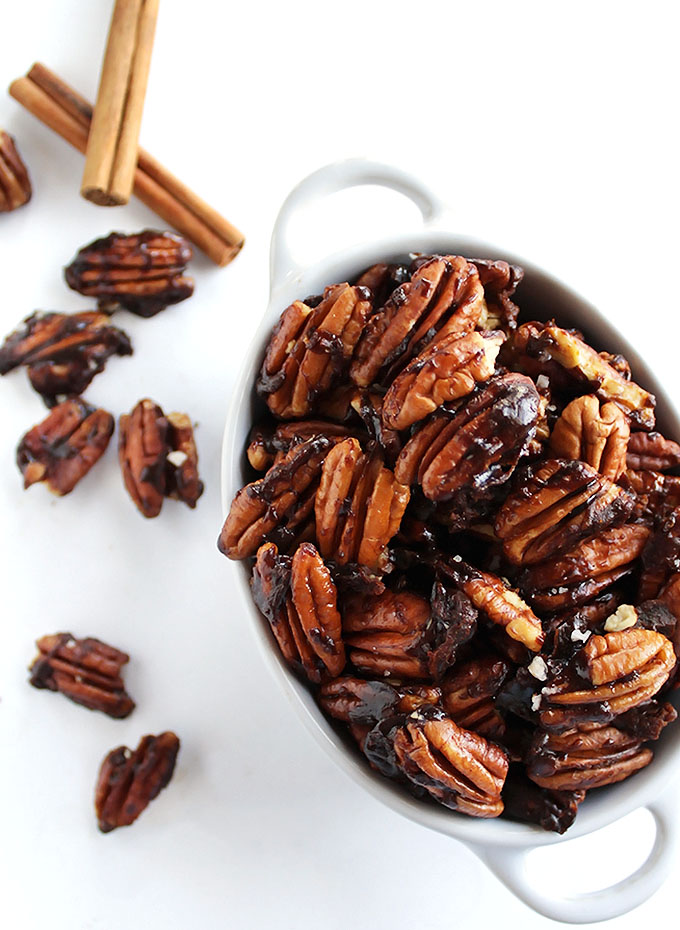5 Minute Spiced Pecans - Robust Recipes