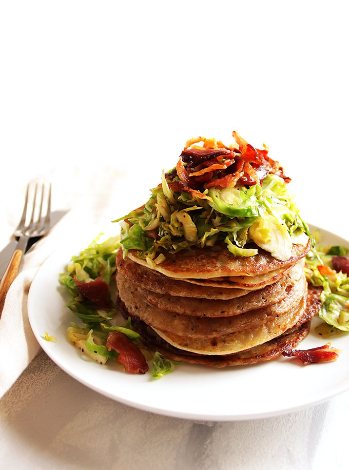 Irish Boxty Potato Pancakes with Brussels Sprouts and ...