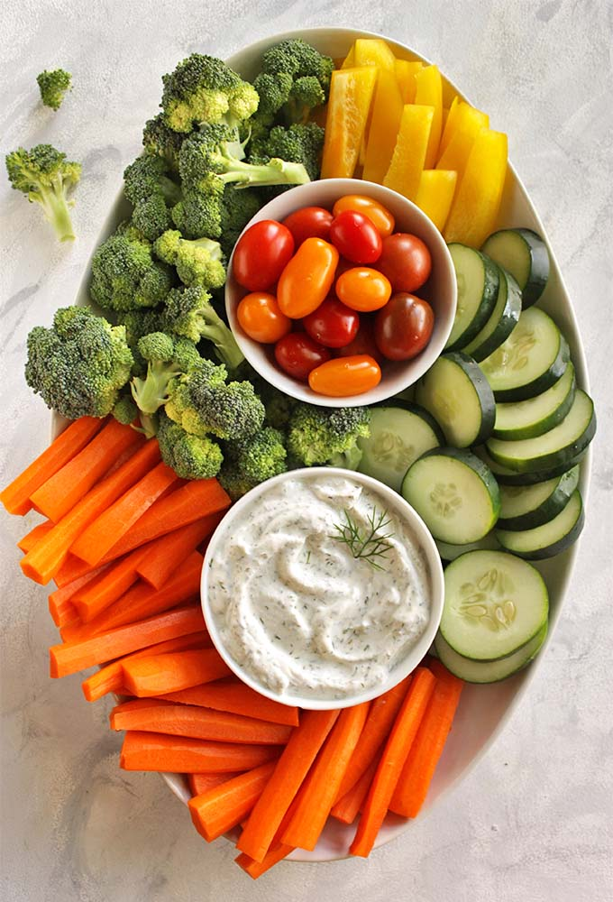 Healthy Greek Yogurt Dill Dip - Robust Recipes