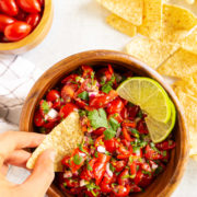 Grape Tomato Salsa