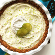 Gluten Free Key Lime Pie (V)